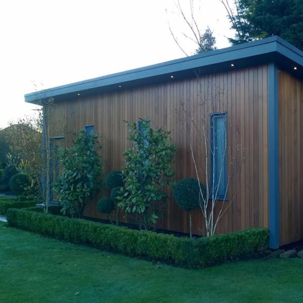 Golf Simulation Outbuilding and Garden Design
